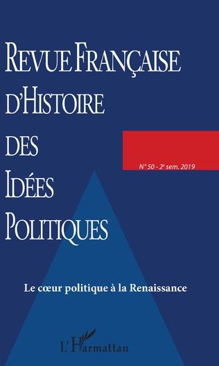 Couverture Le coeur politique à la Renaissance