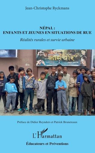 Couverture Népal : enfants et jeunes en situations de rue