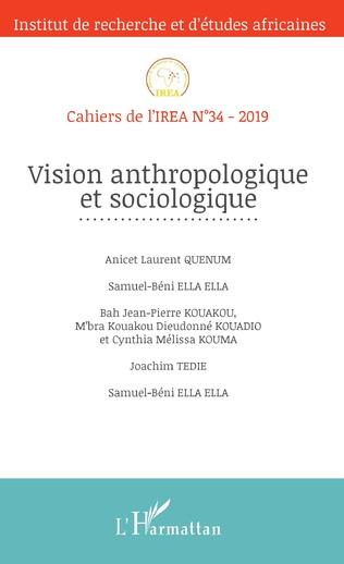 Couverture Vision anthropologique et sociologique