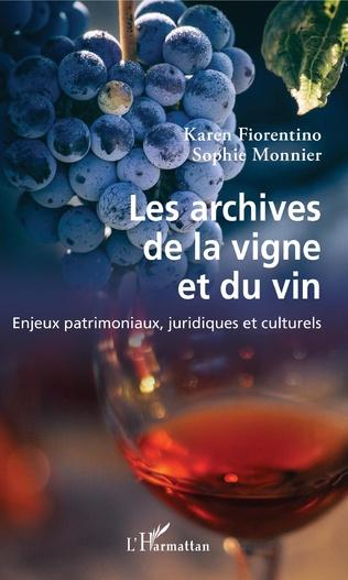 Couverture Les archives de la vigne et du vin