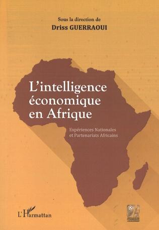 Couverture L'intelligence économique en Afrique