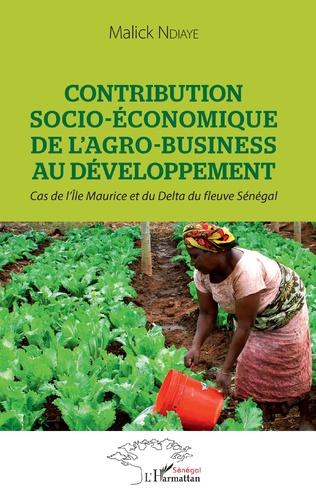 Couverture Contribution socio-économique de l'agro-business au développement