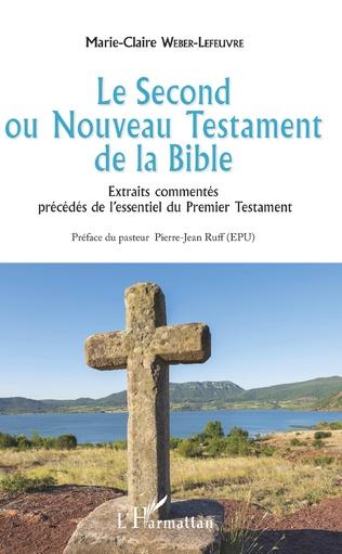 Couverture Le Second ou Nouveau Testament de la Bible
