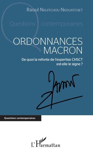 Couverture Ordonnances Macron
