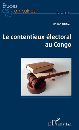 Couverture Le contentieux électoral au Congo