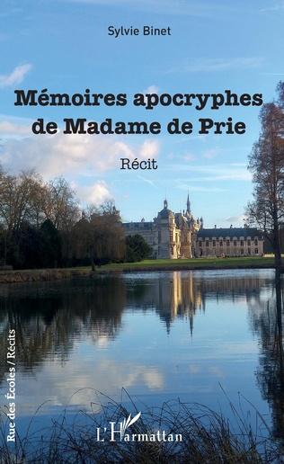 Couverture Mémoires apocryphes de Madame de Prie