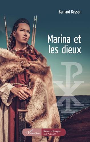 Couverture Marina et les dieux
