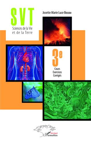 Couverture SVT Sciences de la Vie et de la Terre 3è