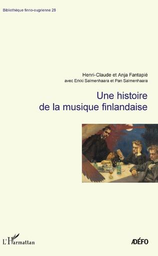 Couverture Une histoire de la musique finlandaise