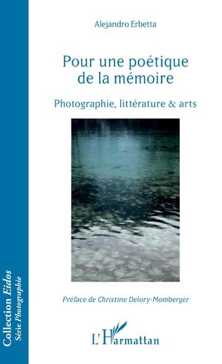 Couverture Pour une poétique de la mémoire