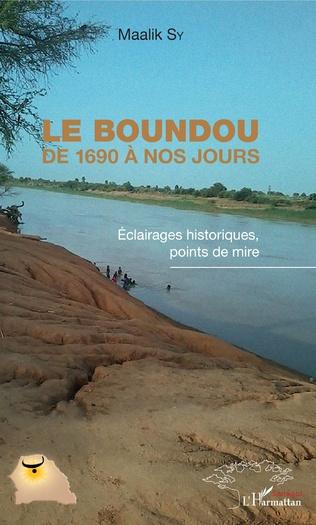 Couverture Le Boundou de 1690 à nos jours