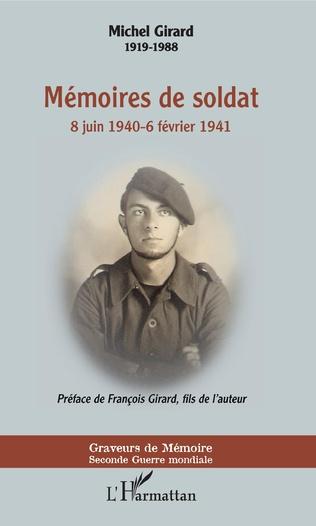 Couverture Mémoires de soldat
