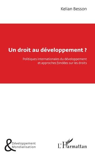 Couverture Un droit au développement ?