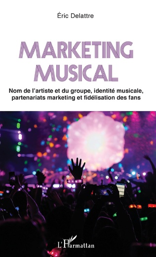 Couverture Marketing musical