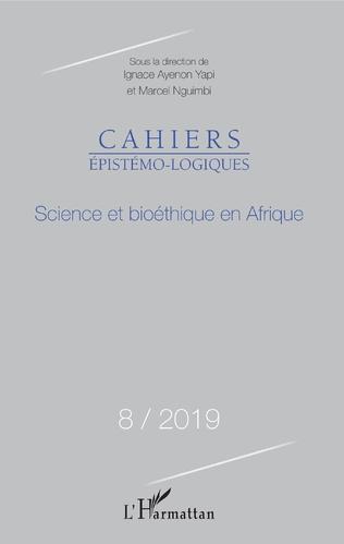 Couverture SCIENCE ET BIOETHIQUE EN AFRIQUE N°8 / 2019