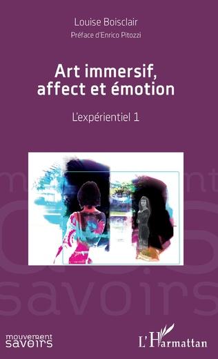 Couverture Art immersif, affect et émotion