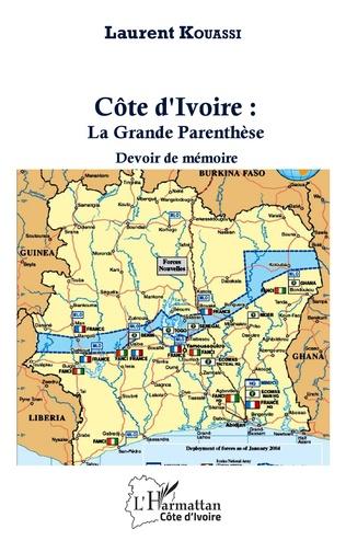 Couverture Côte d'Ivoire : La Grande Parenthèse