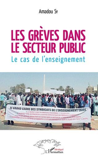 Couverture Les grèves dans le secteur public