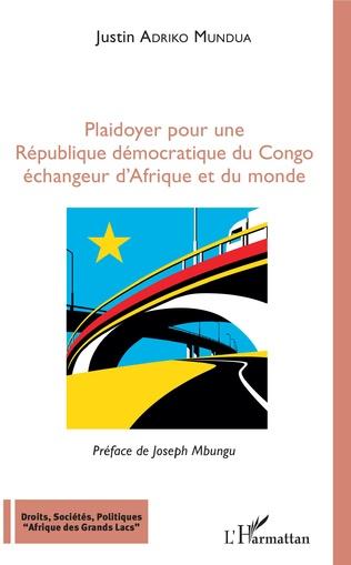 Couverture Plaidoyer pour une République démocratique du Congo