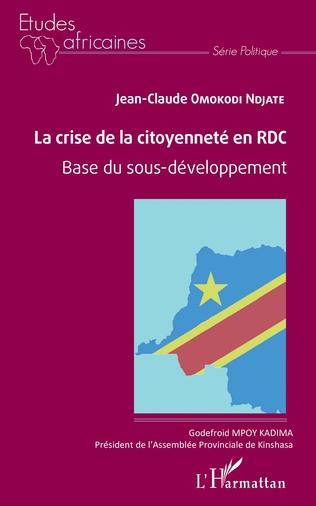 Couverture La crise de la citoyenneté en RDC