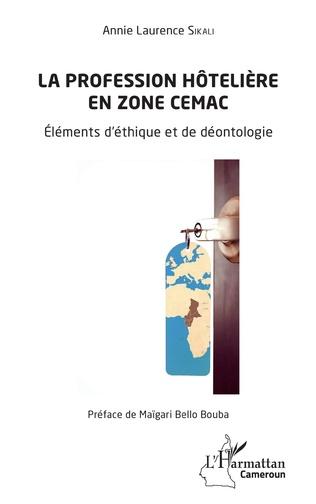 Couverture La profession hôtelière en zone CEMAC