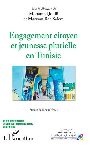 Couverture Engagement citoyen et jeunesse plurielle en Tunisie