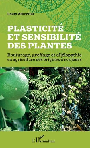 Couverture Plasticité et sensibilité des plantes