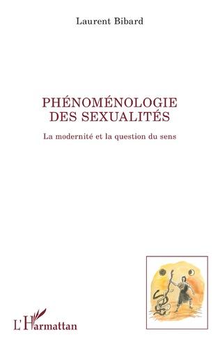 Couverture Phénoménologie des sexualités