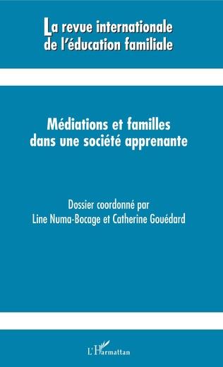 Couverture Médiations et familles dans une société apprenante