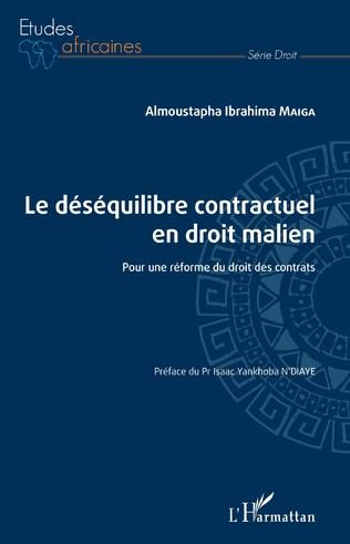 Couverture Le déséquilibre contractuel en droit malien
