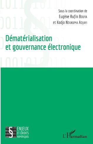 Couverture Dématérialisation et gouvernance électronique