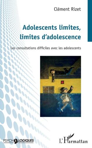 Couverture Adolescents limites, limites d'adolescence
