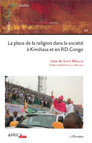 Couverture La place de la religion dans la société à Kinshasa et en RD Congo