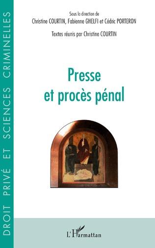 Couverture Presse et procès pénal