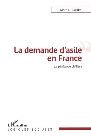 Couverture La demande d'asile en France
