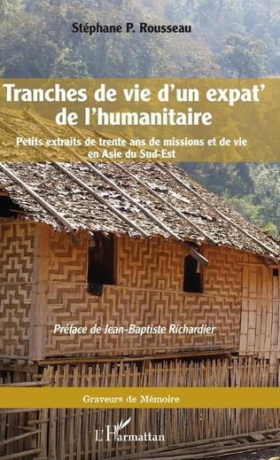Couverture Tranches de vie d'un expat' de l'humanitaire