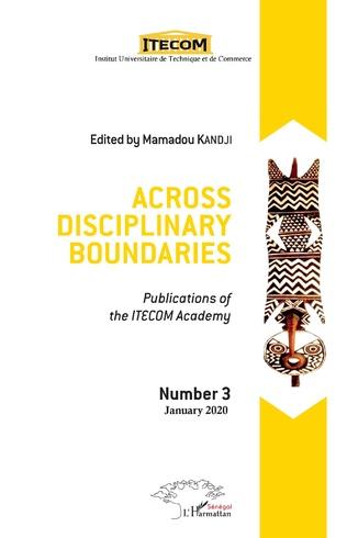 Couverture Across disciplinary boundaries
