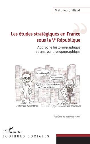 Couverture Les études stratégiques en France sous la Ve République