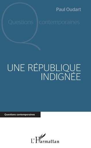 Couverture Une République indignée