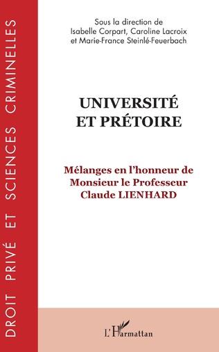 Couverture Université et prétoire