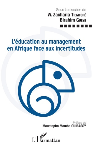Couverture L'éducation au management en Afrique face aux incertitudes