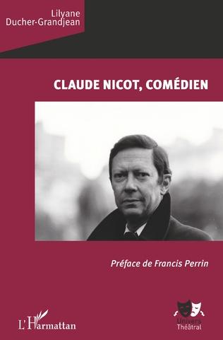Couverture Claude Nicot, comédien