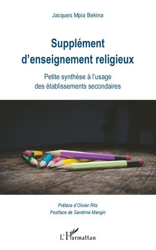 Couverture Supplément d'enseignement religieux