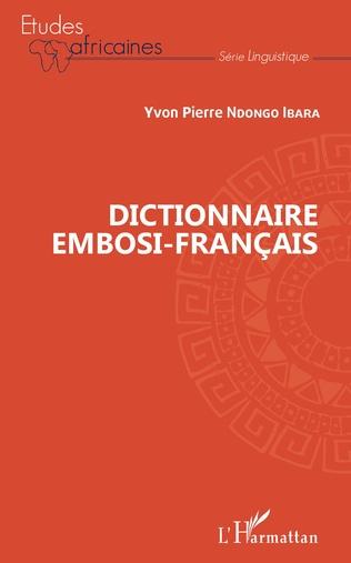 Couverture Dictionnaore embosi-français