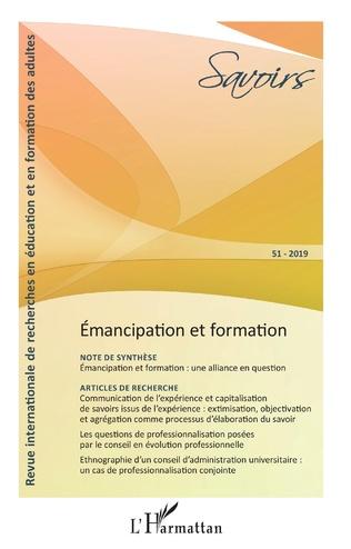 Couverture Émancipation et formation