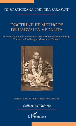 Couverture Doctrine et méthode de l'Advaita Vedanta
