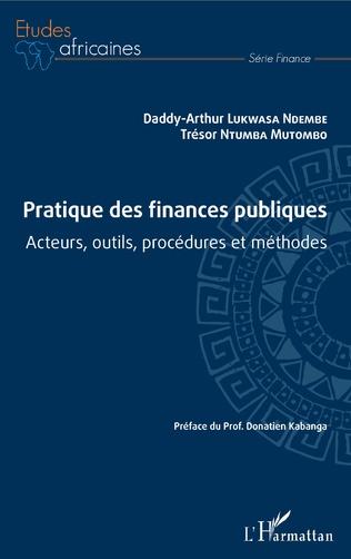 Couverture Pratique des finances publiques