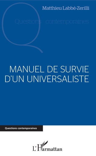 Couverture Manuel de survie d'un universaliste