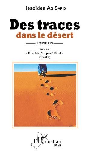 Couverture Des traces dans le désert