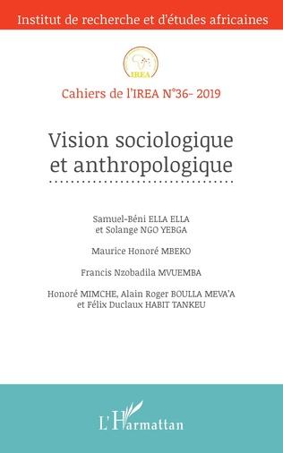 Couverture Vision sociologique et anthropologique